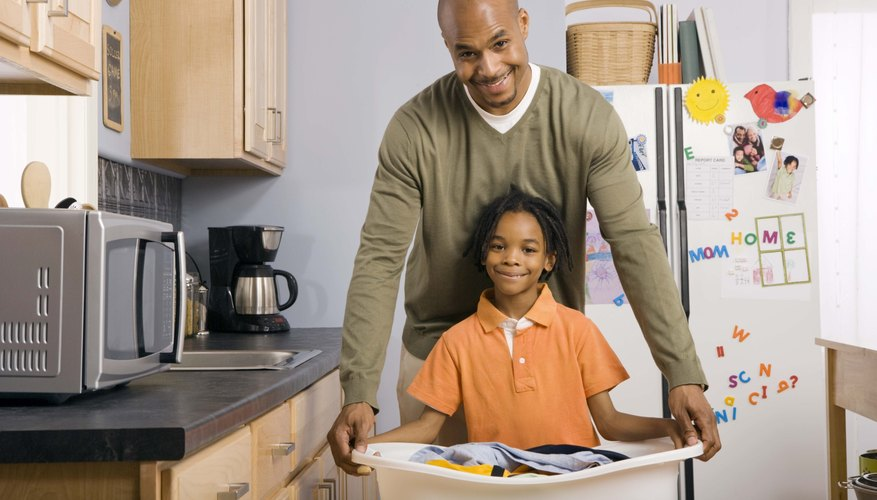 A chore list keeps all family members accountable for their household tasks.