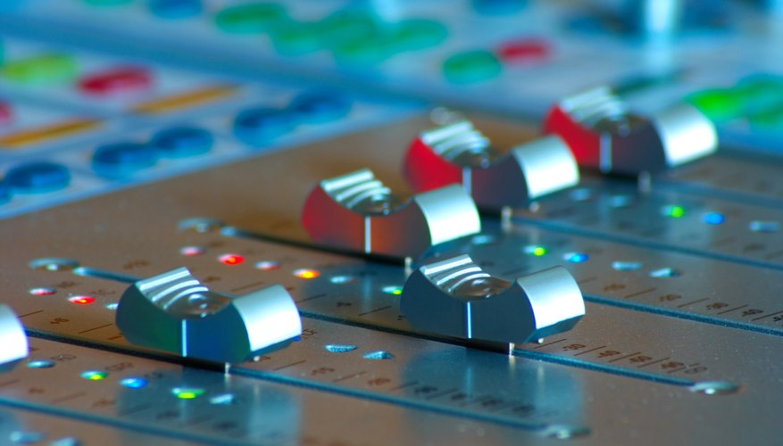 The mixing board is the hub of sound in any live performance.