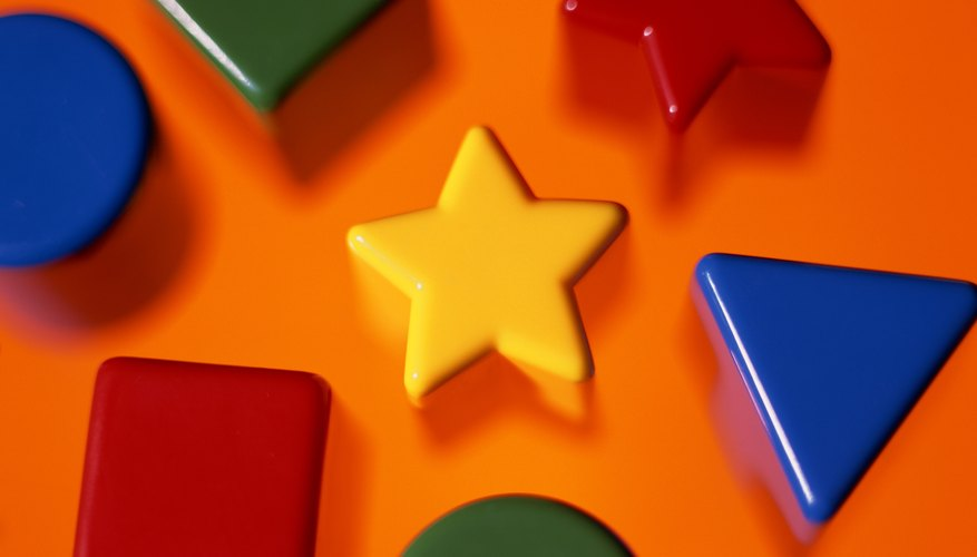 Does your child recognize different shapes?