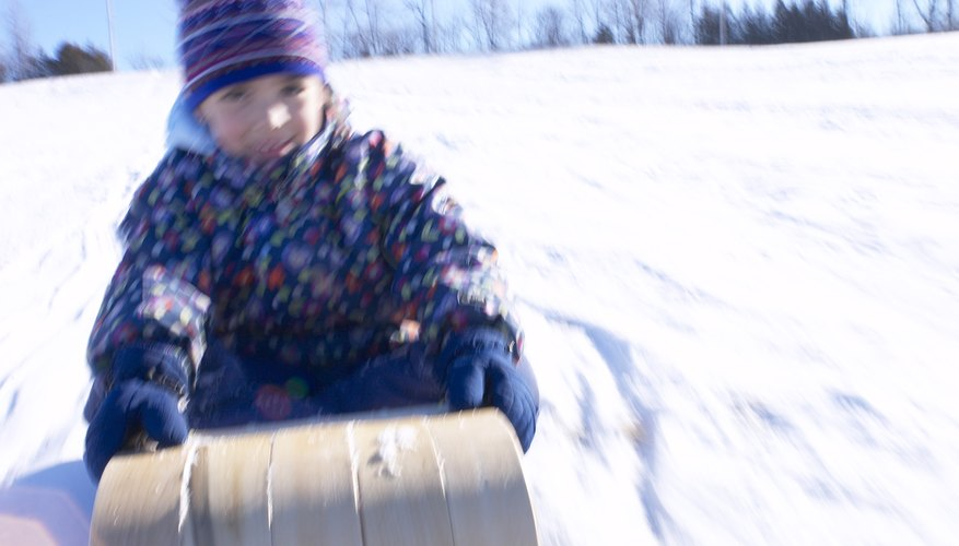 Go for a sled ride at Kingston Park.
