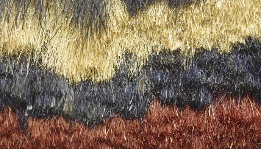 Utiliza tres a seis capítulos de lana por trenza.