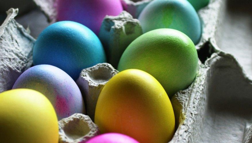 Make Easter eggs that tell the story of Christ's resurrection.