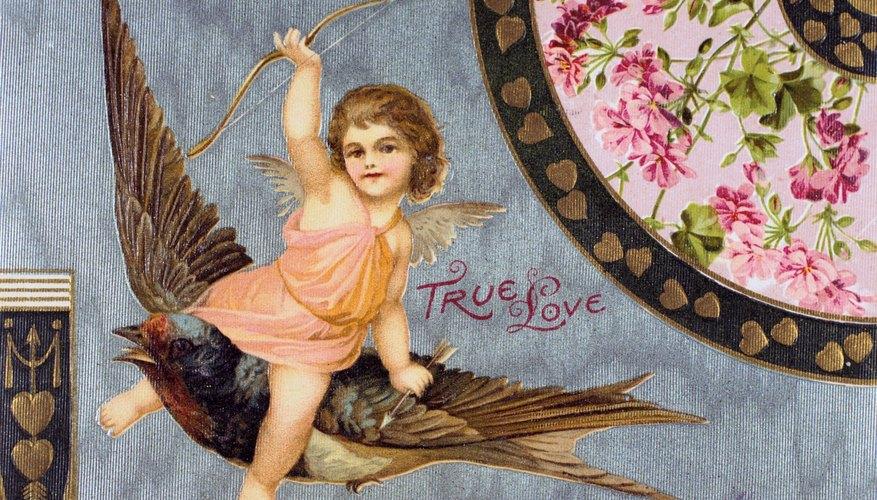 Cupido apunta a seres humanos y espirituales.