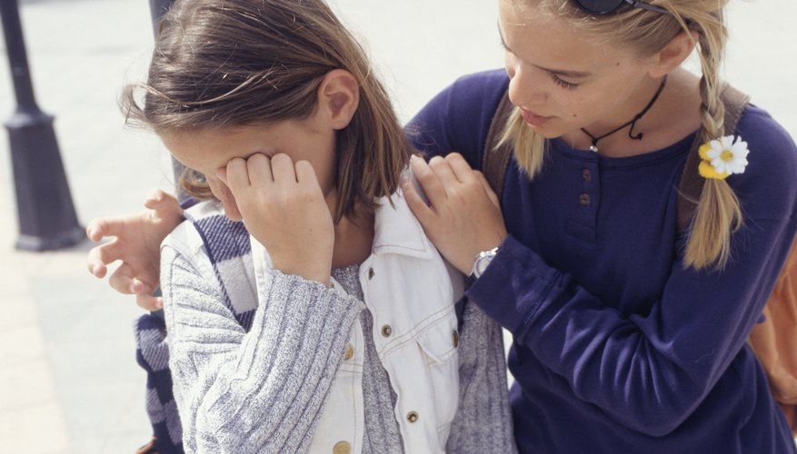 Help your child learn how to understand her friend's feelings.
