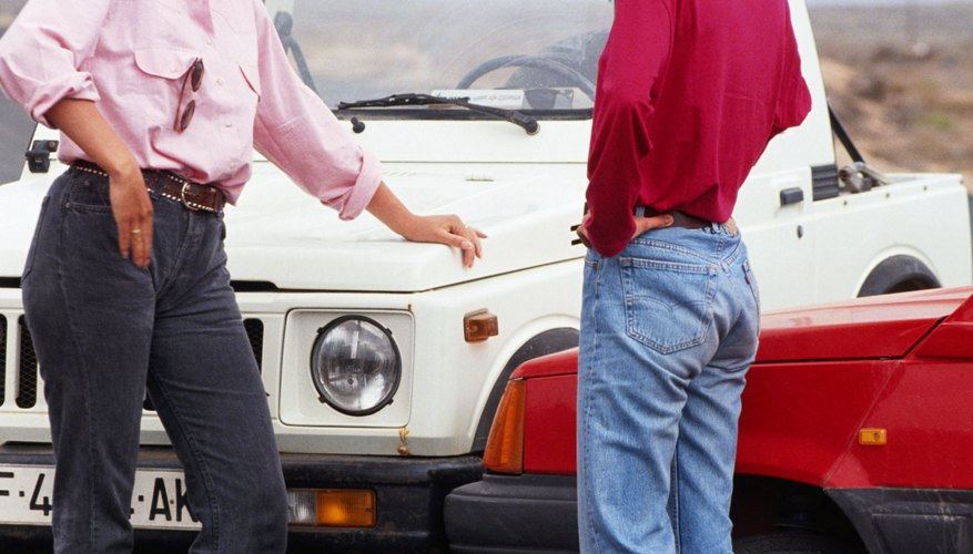 Third party claims involve the other motorist in a car accident.