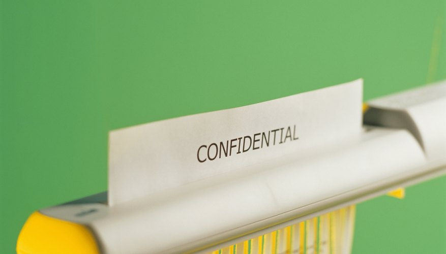 Are Confidentiality Agreements In California Enforceable Bizfluent