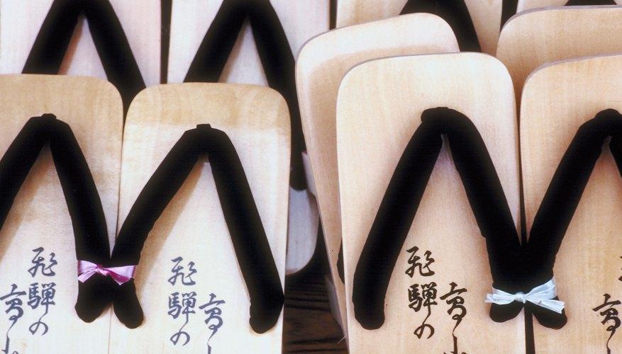 Geta Wooden Sandals