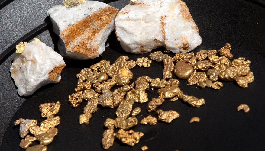 The most common form of raw gold is called placer or nugget gold.