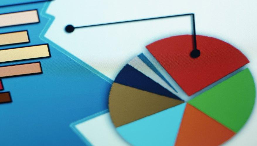 Aunque las gráficas circulares son herramientas de presentación efectivas, también representan retos.