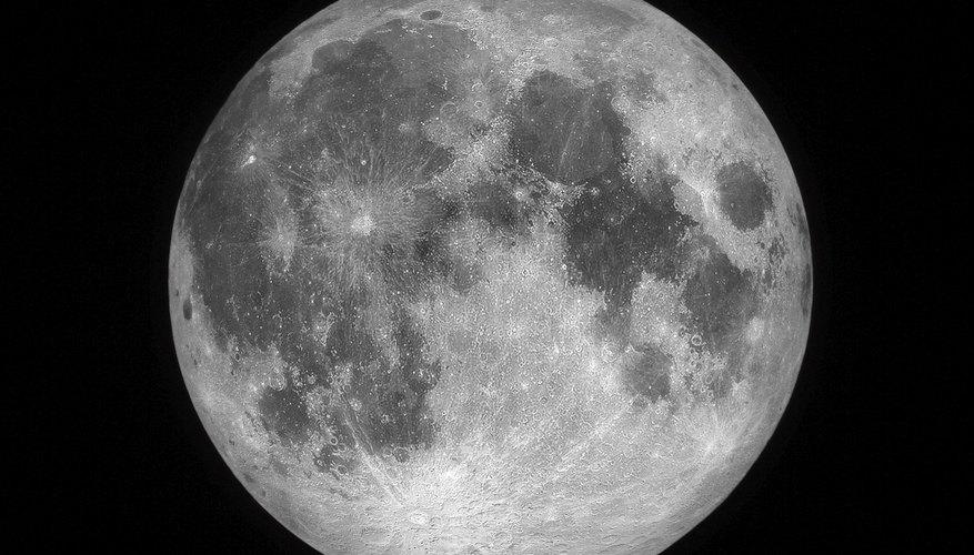 Cómo dibujar la luna.