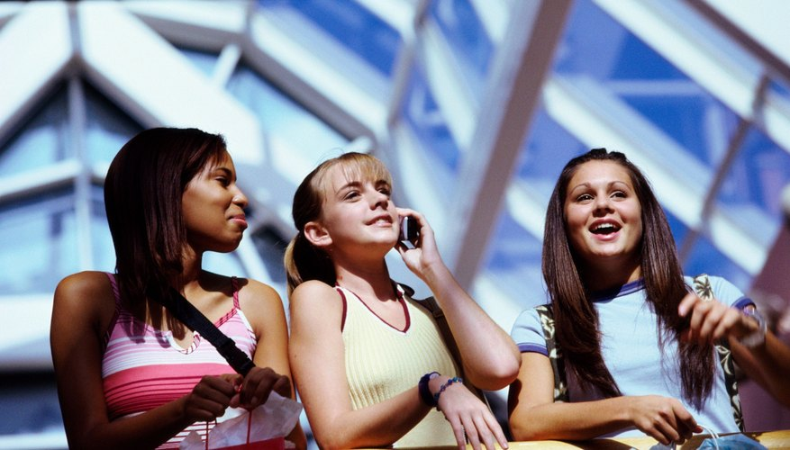 Teenage girls may enjoy spending time at the mall.