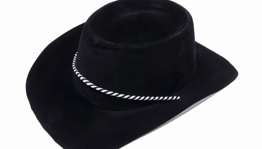 How to Shape a Felt Cowboy Hat to Bull Rider Style  2420f5ad384