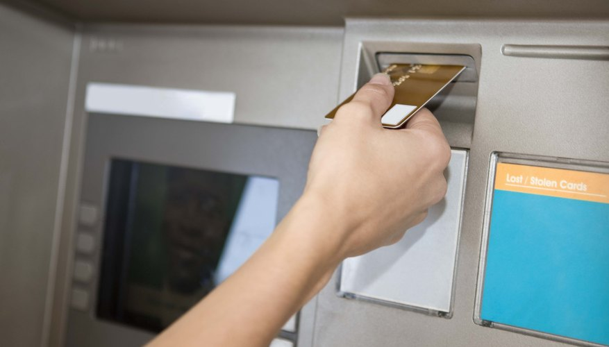 Be aware of important issues about using an ATM.