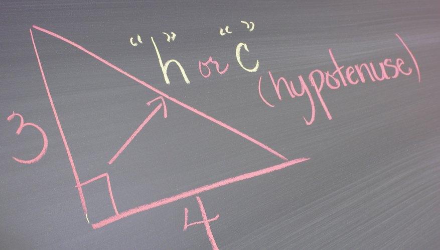 Las líneas perpendiculares se encuentran en ángulos rectos.