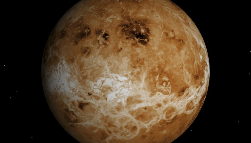 A hostile inferno underlies Venus' relatively thick atmosphere.