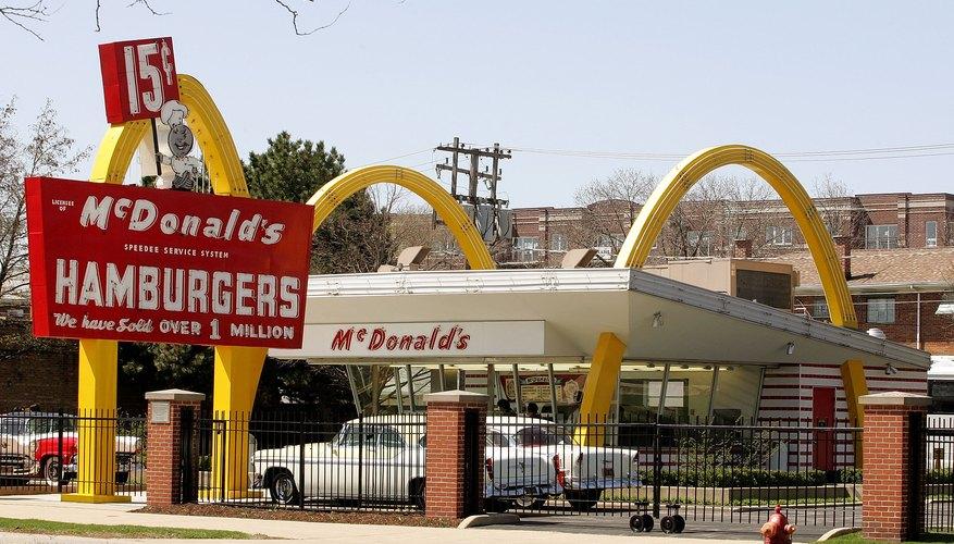 Rebuilt original McDonald's first store in Des Plaines, Illinois