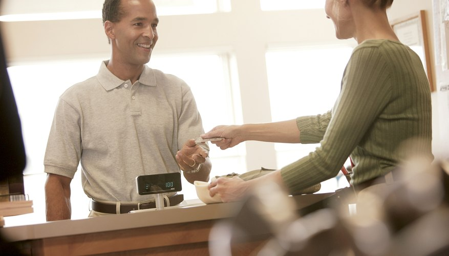 Some retailers can check your balance at the cash register.