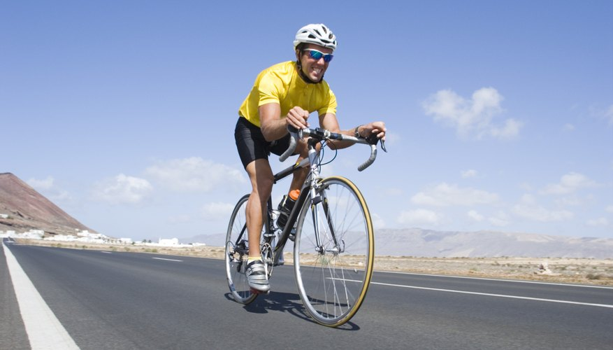 Cycling instead of driving helps reduce air pollution -- and is great for your health, too.