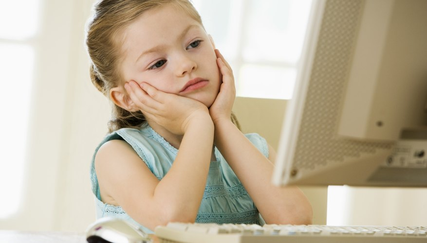 Insist your child finish her homework and chores before accessing the Internet.
