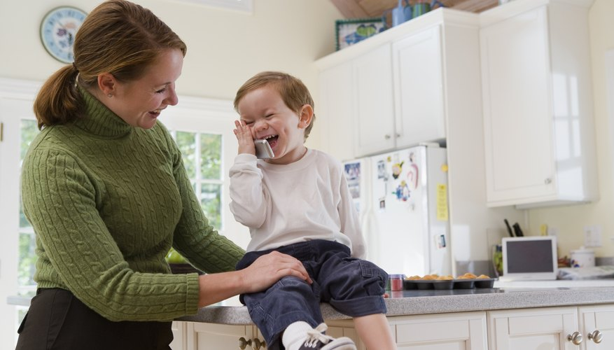 Toddlers love to talk, even if it's not always clear what they're saying.