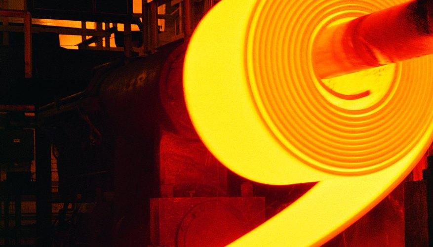 Calentar el acero es un método para incrementar su dureza