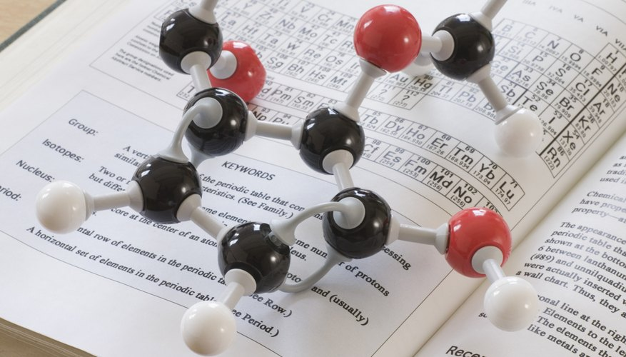 Large molecules have many electron geometries and molecular shapes.
