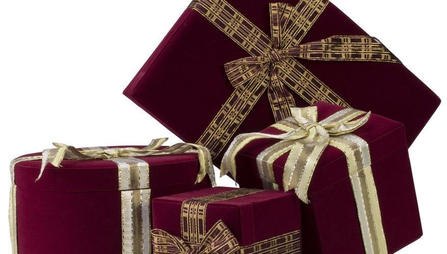 Con un poco de imaginación podrás conseguir un gran regalo.