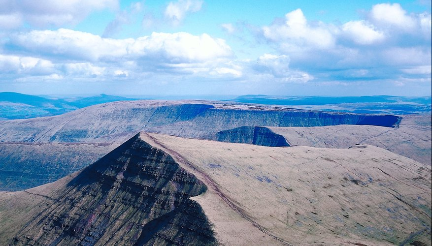 A scarp is a land form caused by an earthquake.