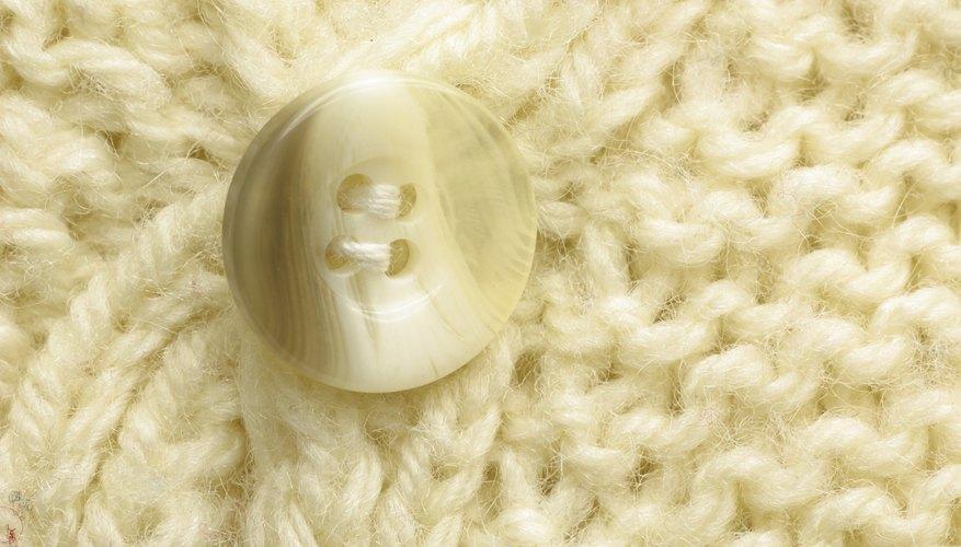 Alterar un buzo tejido puede darle un nuevo estilo.
