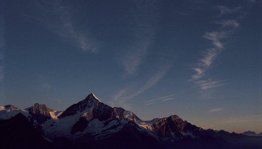 Los alpes suizos.