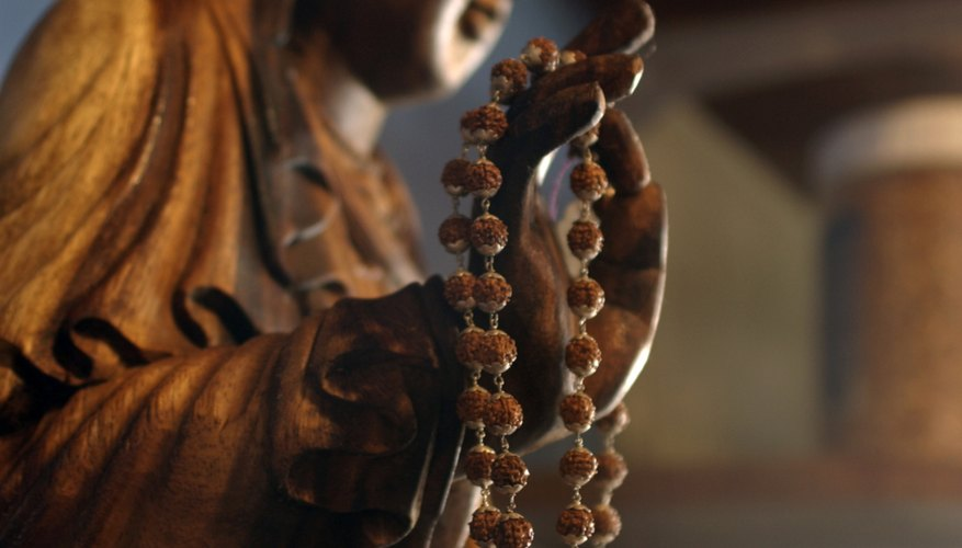 Prayer bead bracelets can add flair to an otherwise dull outfit.