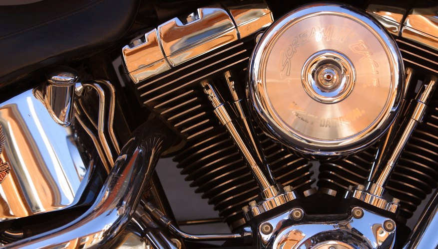 El motor V-Twin, un clásico Harley Davidson, se fabrica con cierto tipo desplazamientos.