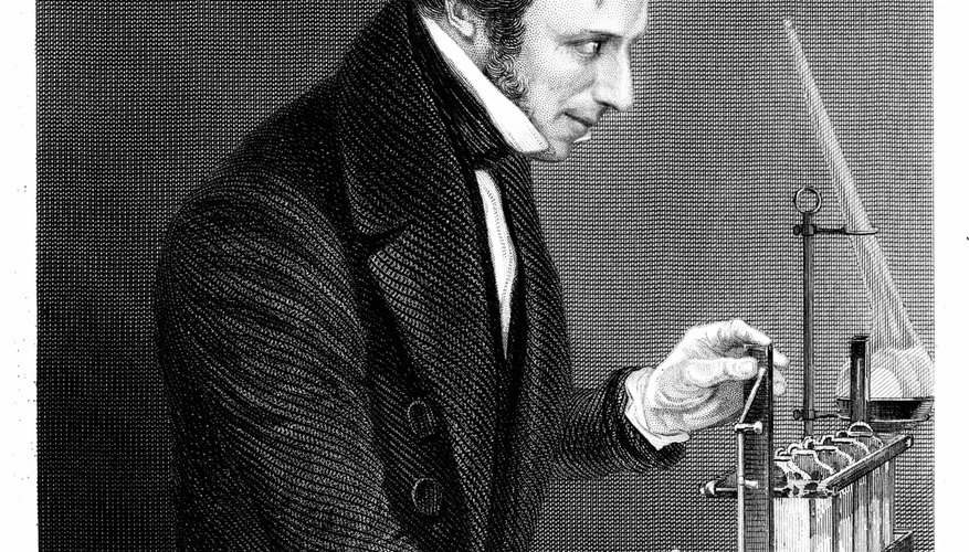 Michael Faraday authored Faraday's law of induction and the laws of electrolysis.