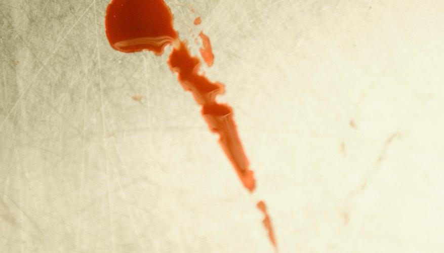 Sangre falsa sin dejar manchas.
