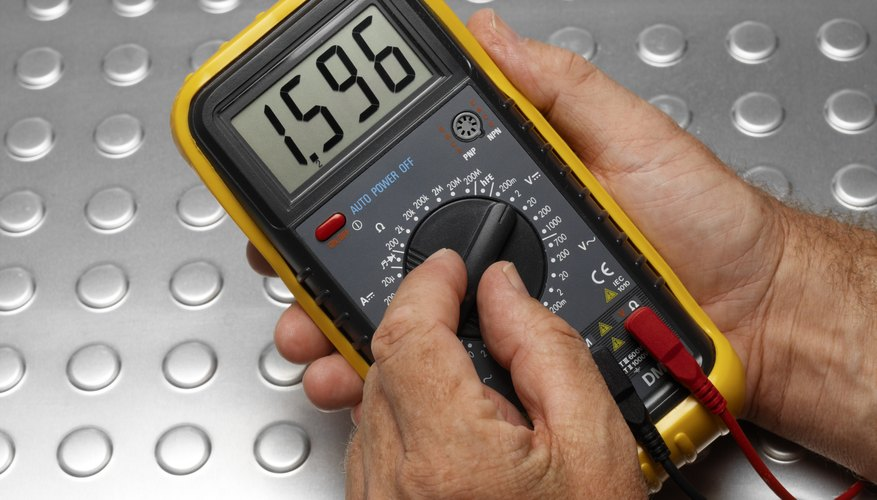 A digital multimeter combines a voltmeter, an ammeter and an ohmmeter in a single device.