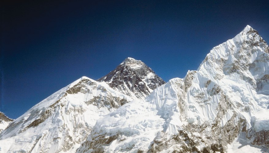 The Himalayan mountains are produced by the collision of tectonic plates