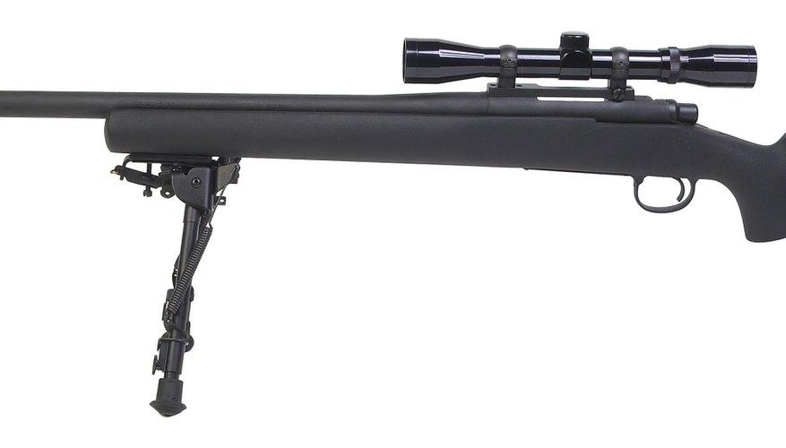 Las miras en los rifles pueden ayudarte a mejorar tu puntería.
