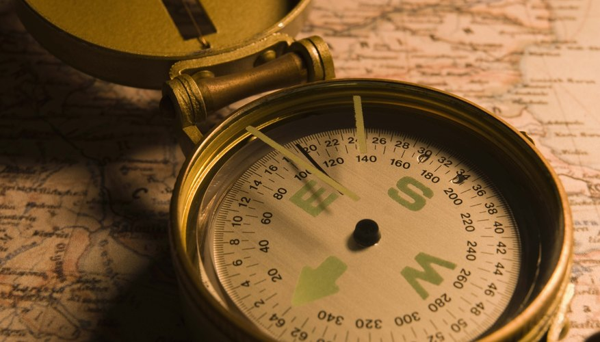 A compass is a viable choice when gathering camping supplies.