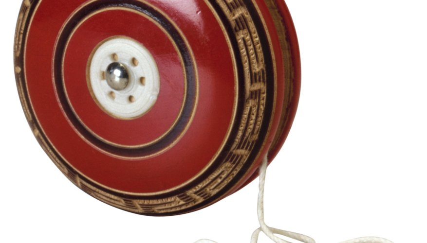 Tricks with a yo-yo require a connected string and plenty of practice.