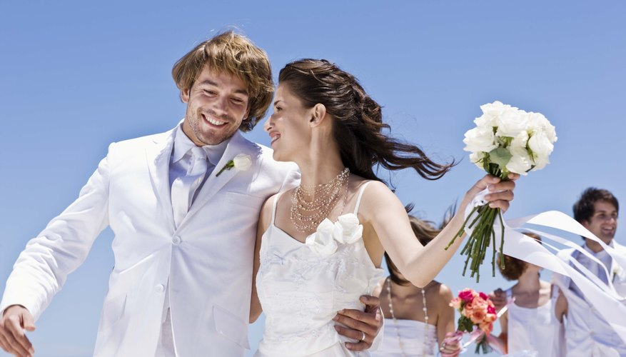 Parents play an important role in a bride and groom's big day.