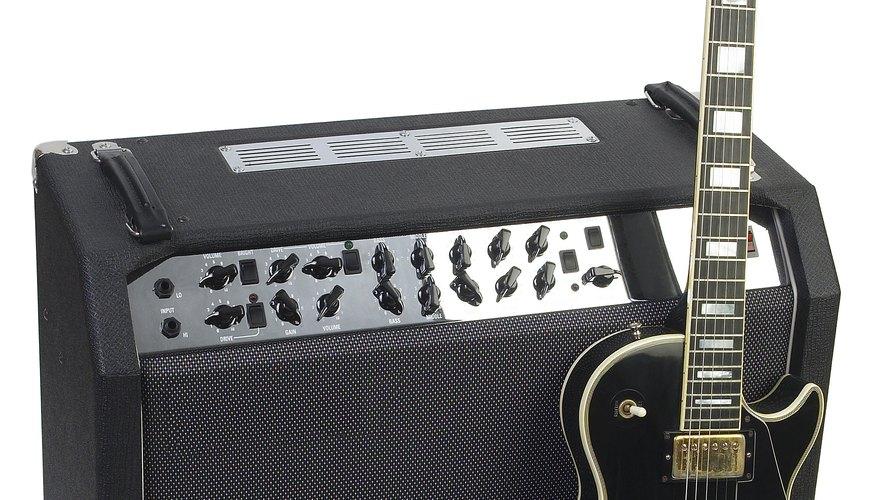 Muchos amplificadores tienen un botón de distorsión.