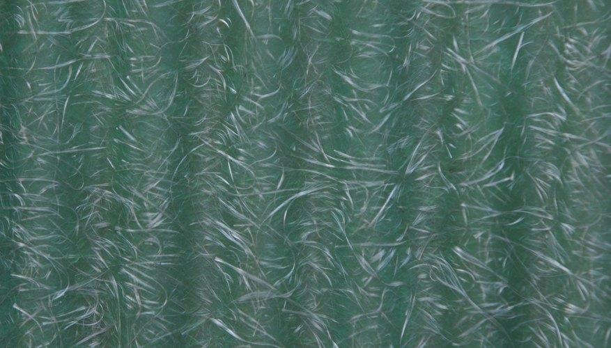 La fibra de vidrio es un material muy resistente.
