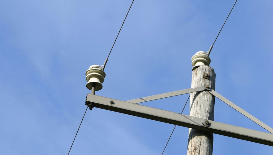 Tendido eléctrico tradicional.