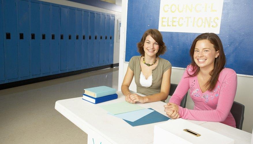 Los consejos estudiantiles ofrecen oportunidades a los participantes para aprender liderazgo y obtener recompensas por el servicio.