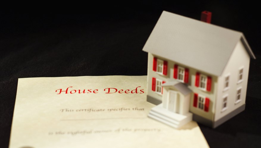 Deeding your home to the bank allows you to forgo foreclosure.