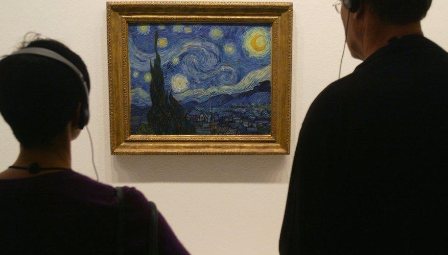 La noche estrellada es un ejemplo perfecto del movimiento impresionista.