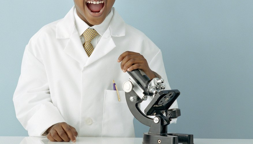 Light microscopes are the most commonly used microscopes in schools.