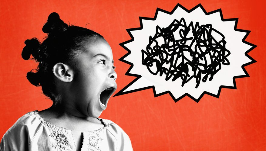 Kids sometimes use profanity because they hear others doing so.