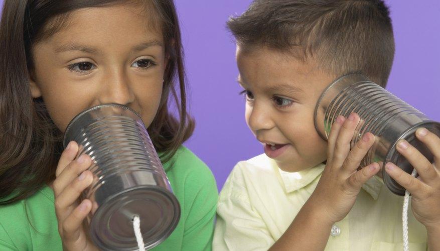 Help children understand hearing impairments with activities that help them experience sound distortion.