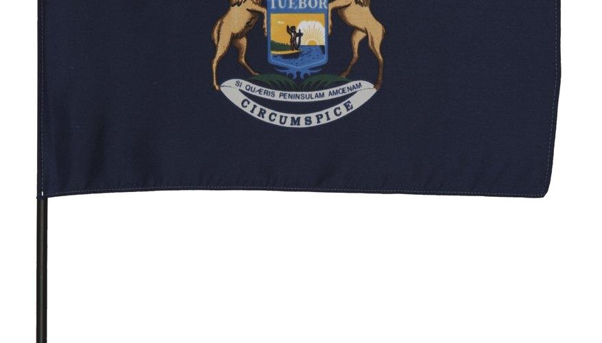 Michigan es el octavo estado más grande de los Estados Unidos.